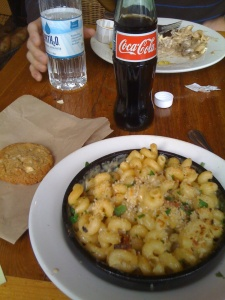 """Grown up"" Mac & Cheese at Elephant Delicatessen"