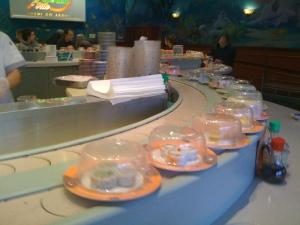 A Sushi-go-round Restaurant