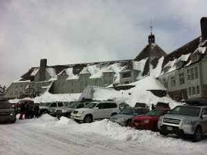 Timberline Lodge on Mt. Hood