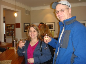 Wine tasting at Argyle Winery in Dundee