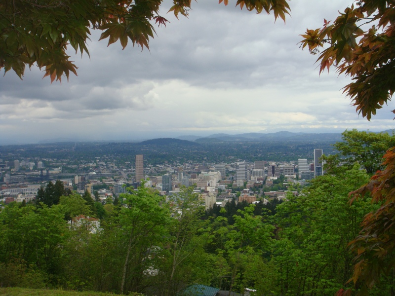 Overlooking Portland from Pittock Mansion