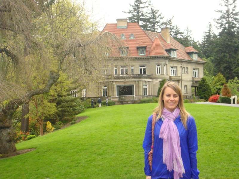 Pittock Mansion - scenic overlook side