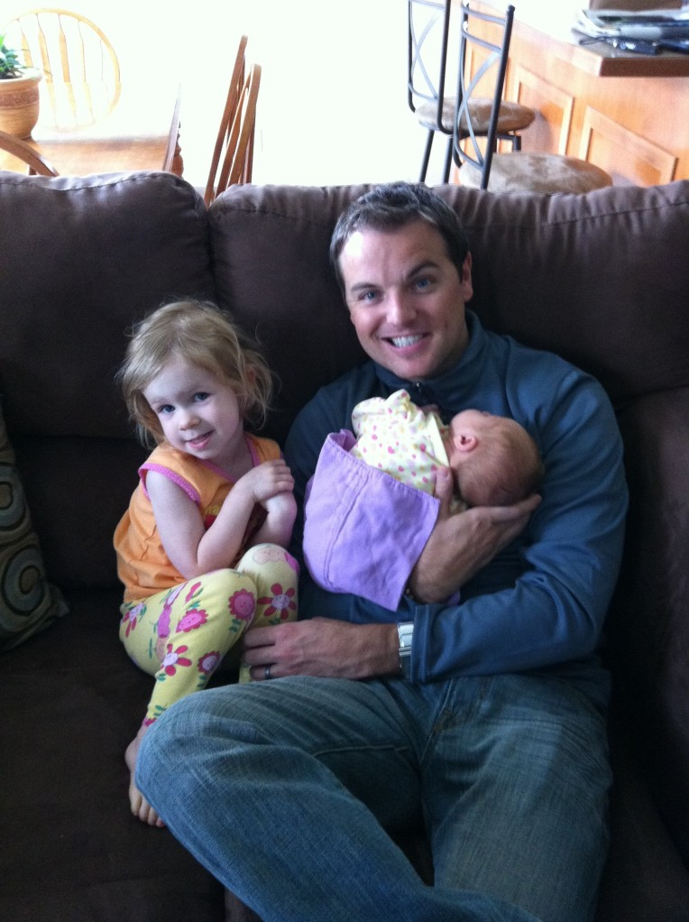 Jeff saying goodbye to his nieces