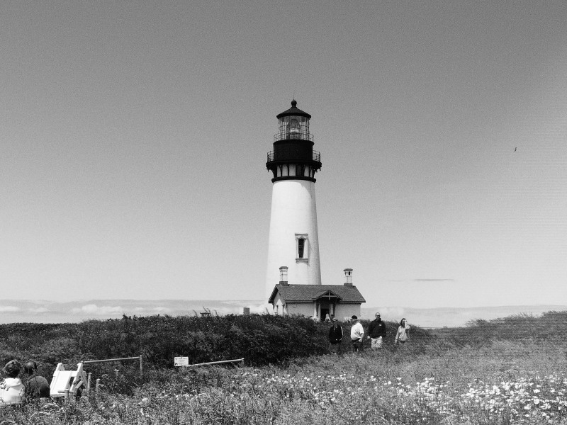 Yaquina Lighthouse in Newport, Oregon