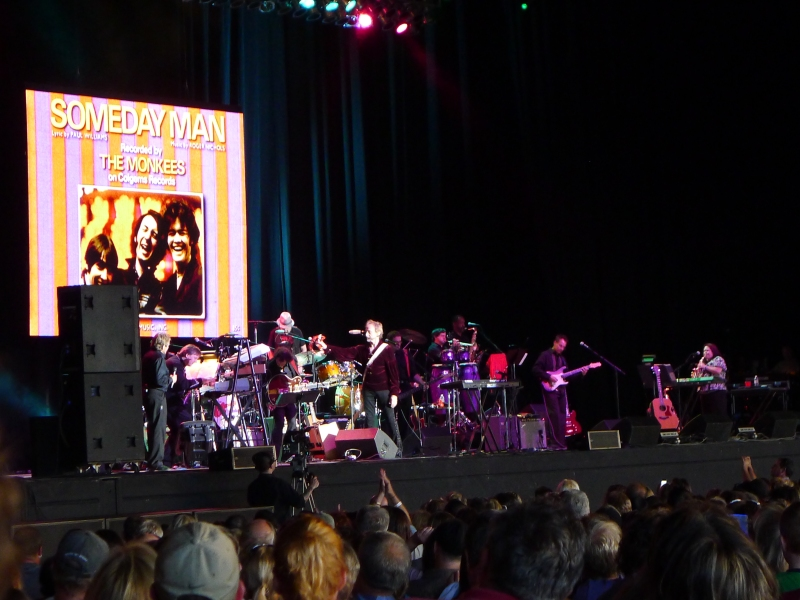 The Monkees concert at Sleep Country Ampitheater