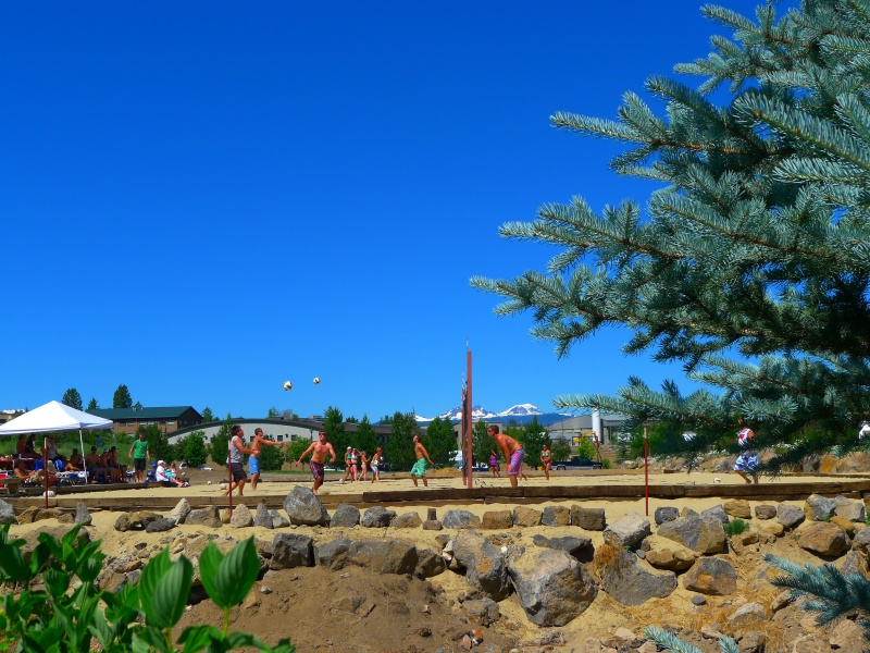 Lots of outdoor activities in Bend - and with such a picturesque backdrop