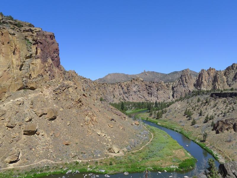 Amazing views at Smith Rock