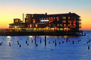 The Cannery Pier Hotel in Astoria