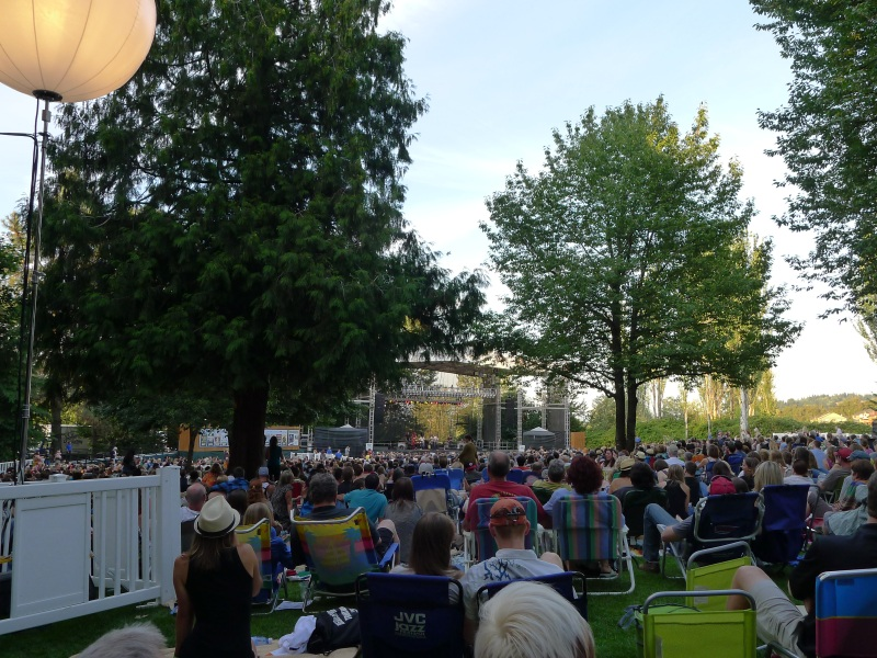 The Edgefield amphitheater grounds