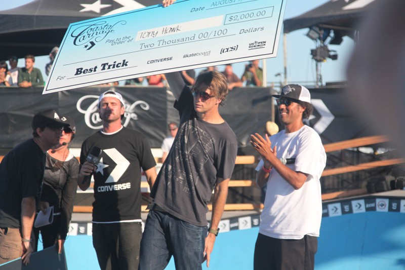 Tony Hawk even showed up at the Coastal Carnage!