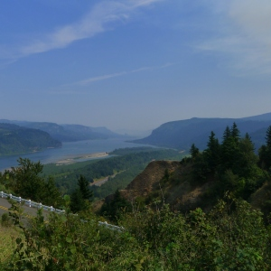 The beautiful Columbia River Gorge