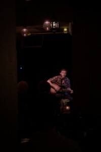 Paul Basile of Great Elk playing at Al's Den