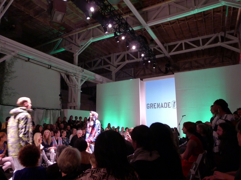 Portland Fashion Week - Grenade show