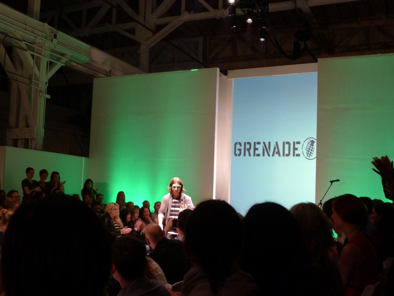 Grenade designer and Olympic medalist Danny Kass