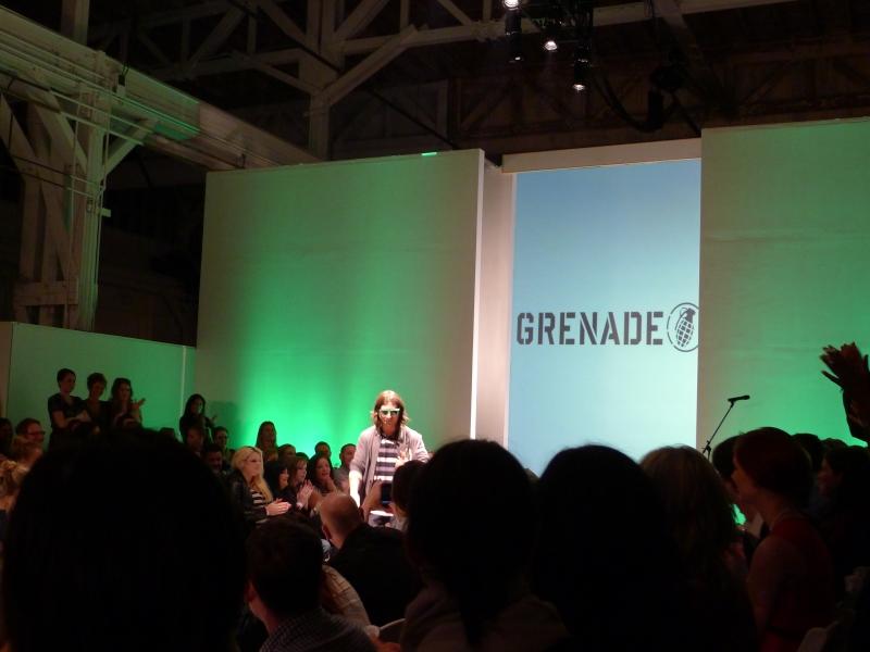 Grenade designer and Olympic medalist Danny Kass