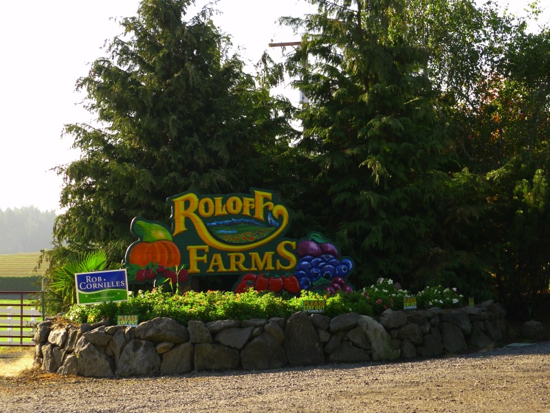 Perfect day for a trip to Roloff Farms