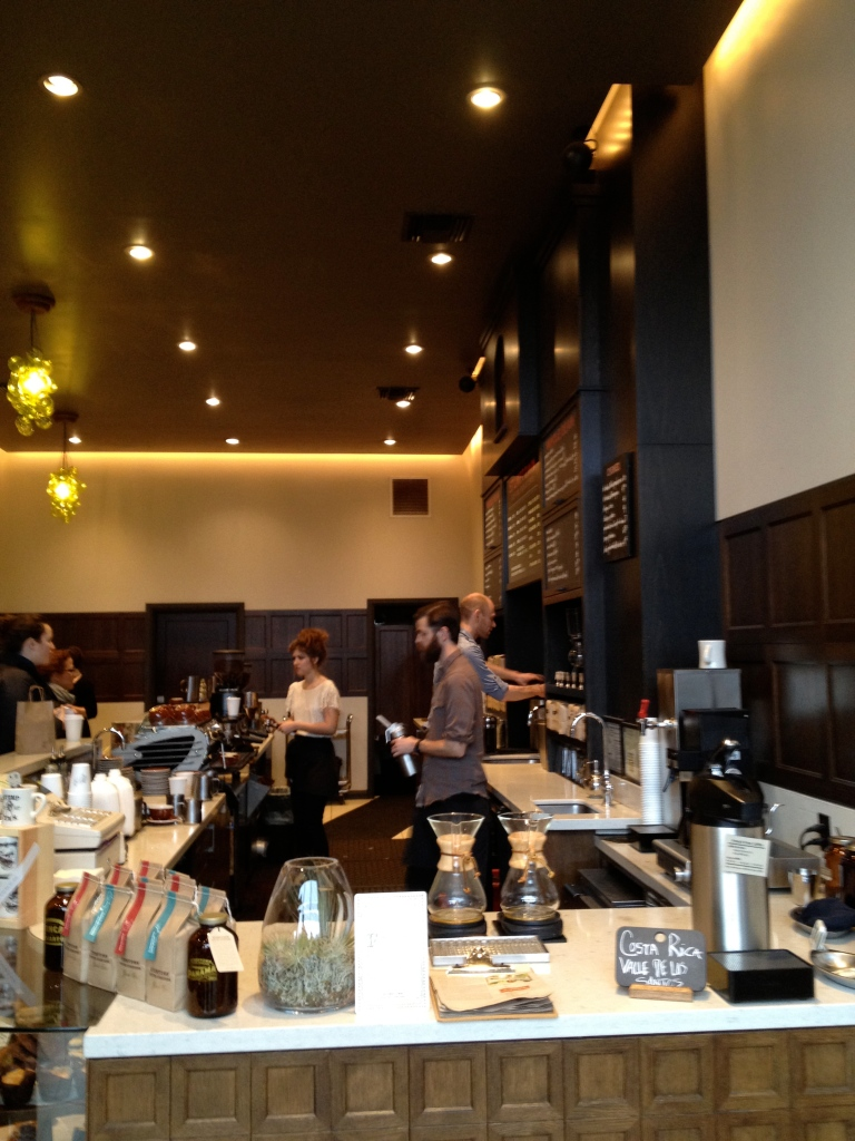 One of the most famous coffee shops in Portland: Stumptown