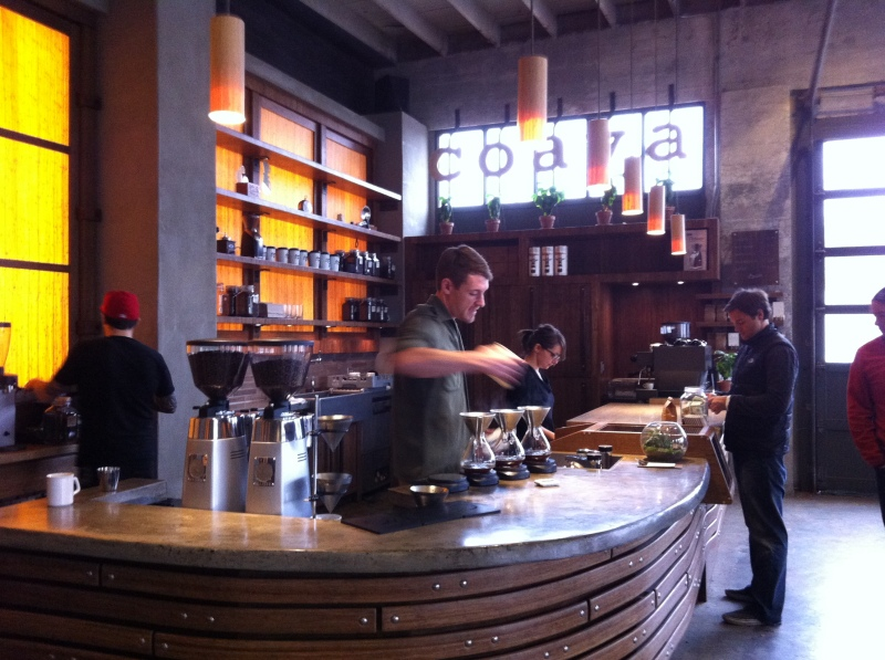 Coava Coffee Roasters - our last stop on the coffee crawl