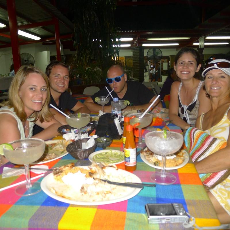AMAZING dinner at local joint El Pollo de Oro