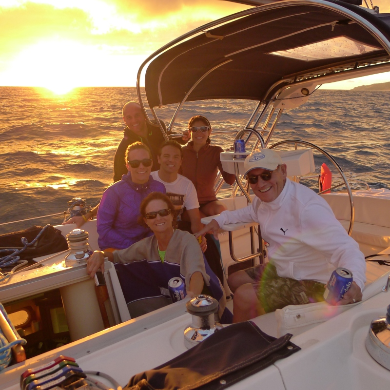 Awesome sail with Cabo Sailing (and Ramon and Clement)