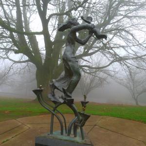 Statue at Council Crest