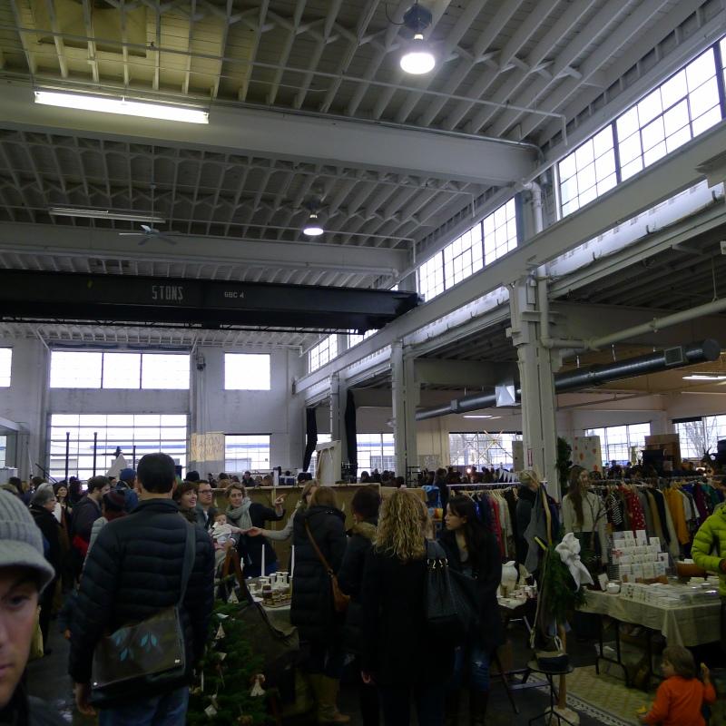 The Portland Bazaar was hopping!