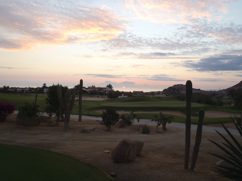 Early morning golf at Palmilla Golf Club