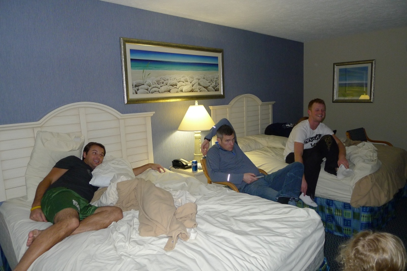 Relaxing at the Grand Beach Hotel in Traverse City