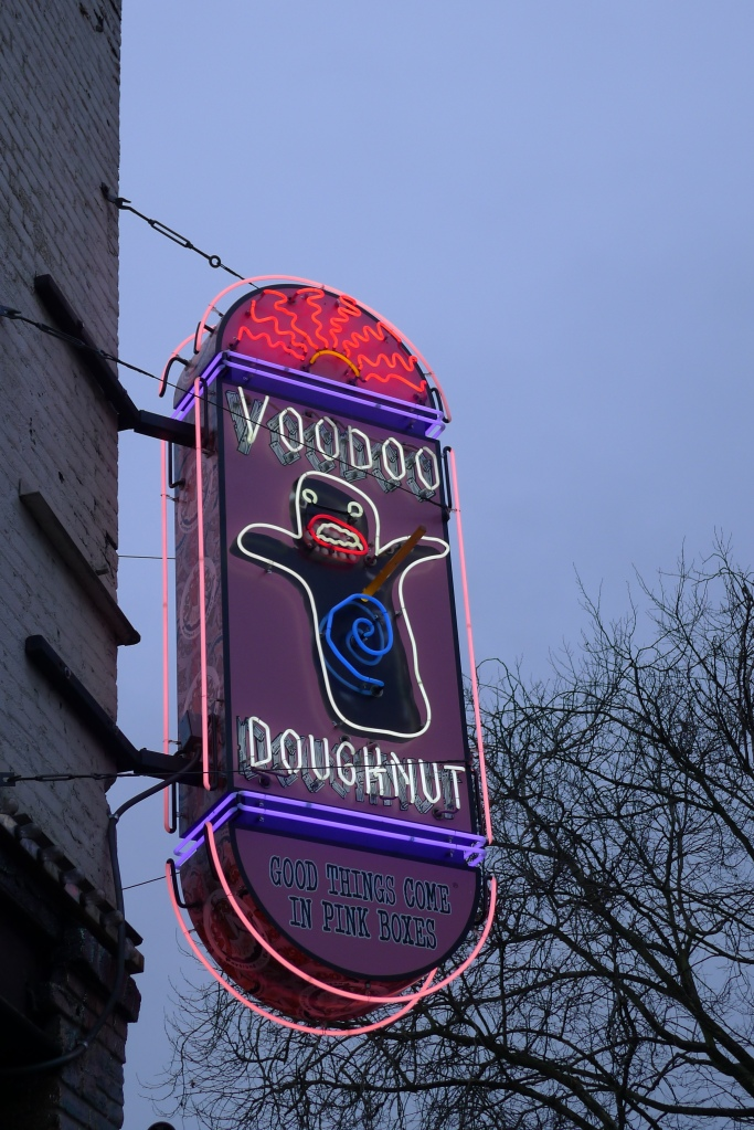 The acclaimed Voodoo Doughnut!