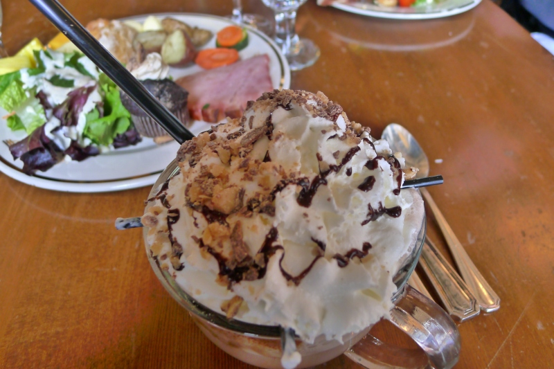 Timberline Lodge's signature hot chocolate - decadent!