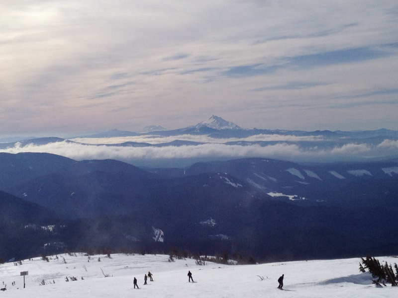 The view from Mt. Hood Meadows