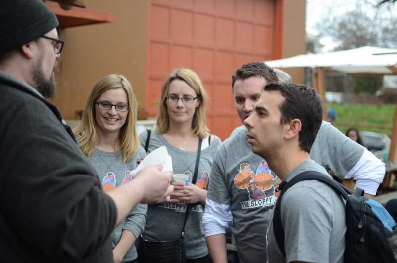 Getting the rundown of the final food cart challenge at FlavourSpot