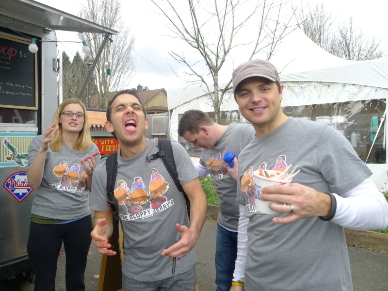 Brain freeze from the Oregon Ice Works one-minute, five-scoop challenge