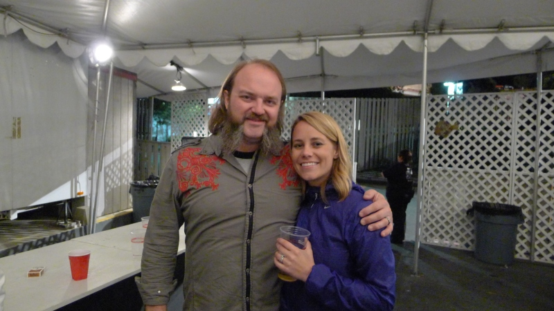 Hanging out with Zac Brown Band's John Driskell Hopkins