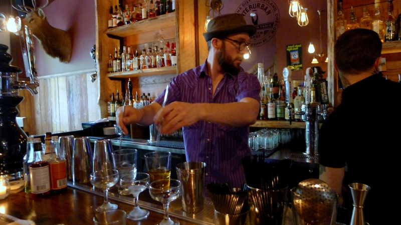 The super-knowledgeable bartenders at Interurban
