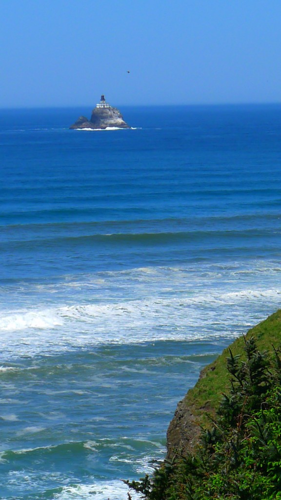 Tillamook Rock Lighthouse, 1.2 miles offshore