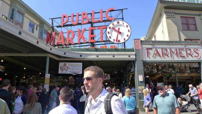 Back to Pike Place Market one last time