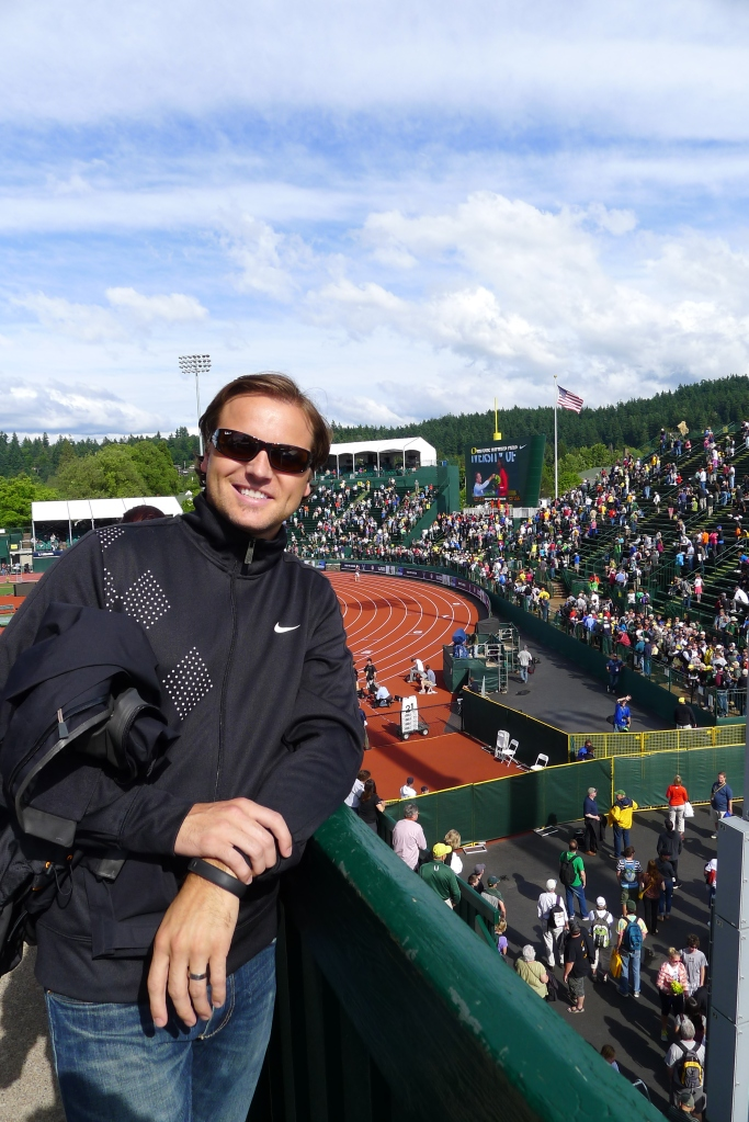 A great day in Tracktown, USA!