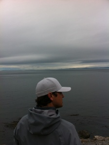 Looking out into the Salish Sea *