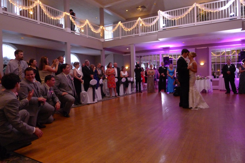 Katie and Jack's first dance