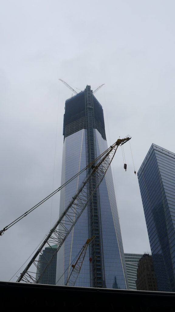 New York City's tallest building: One World Trade Center, aka Freedom Tower
