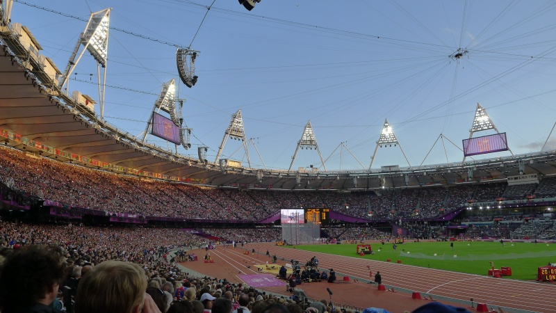 An awe-inspiring Olympic Stadium
