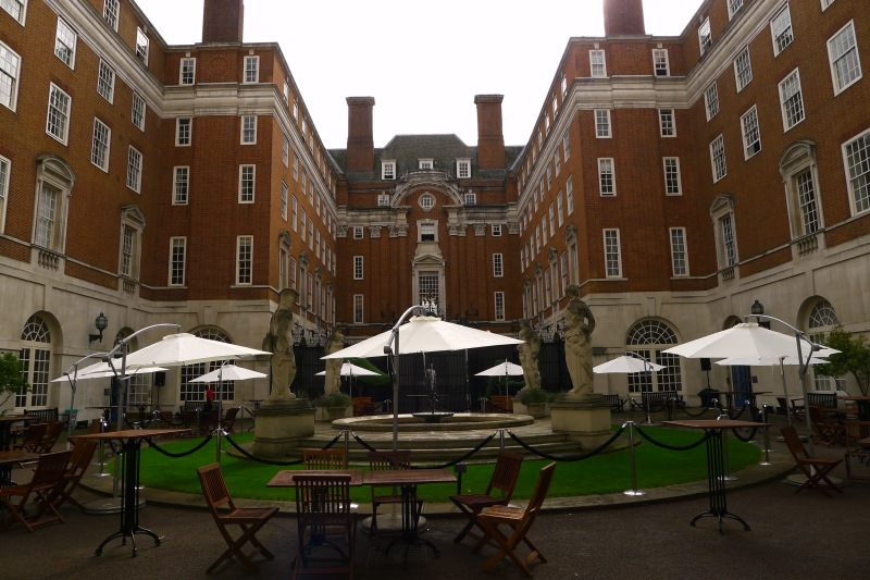 The majestic BMA House, where I spent hours and hours in London