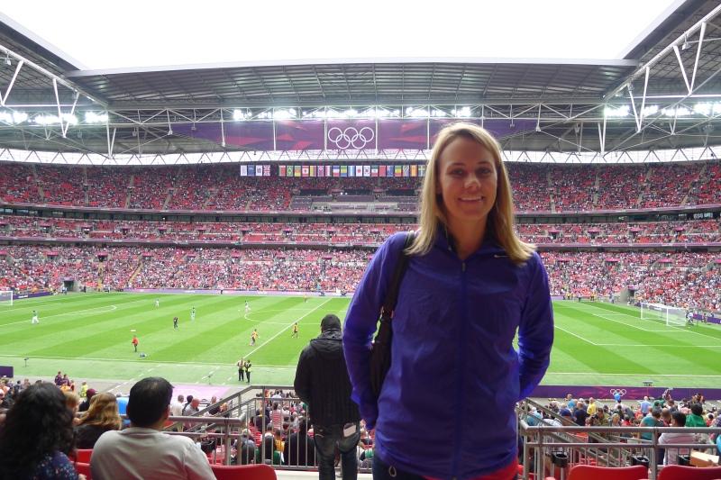 Hello from Wembley Stadium!