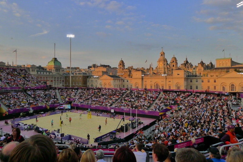 Is there a more beautiful Olympic venue than Horse Guards Parade?