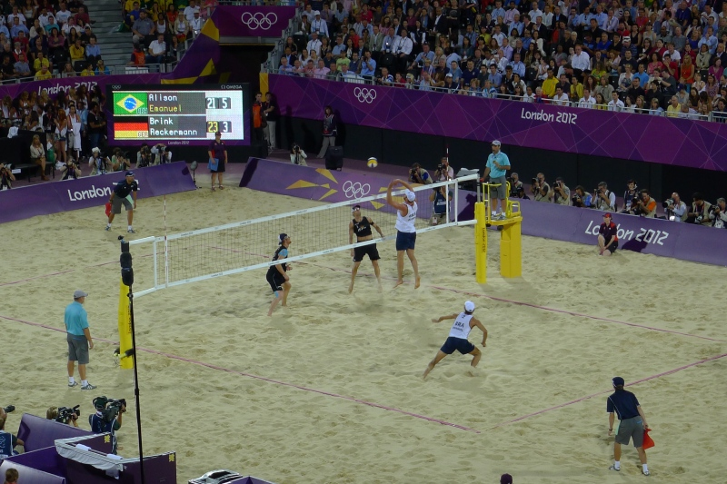 The super-tight gold-medal game between Brazil and Germany