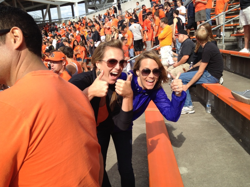 Thumbs up for the Beavs!