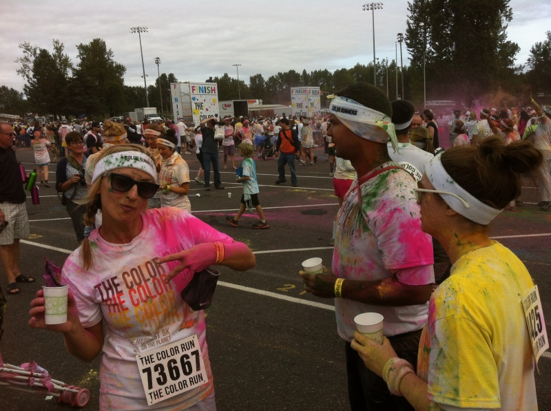 Peace out, Color Run