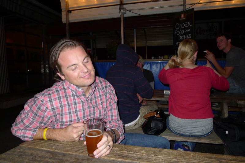 Jeff slipping under the spell of Amnesia Brewing