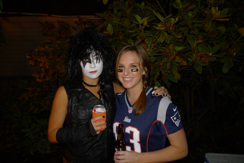 Me and Kristen (otherwise known as Wes Welker)